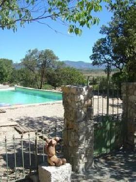 Portail entrée piscine