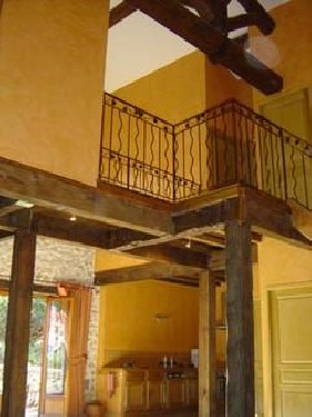 Détails structure mezzanine