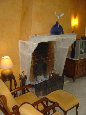 Vue cheminée