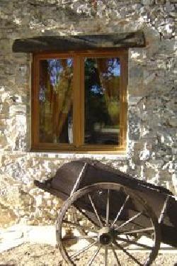 Fenêtre et charue