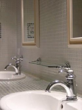 Détails salle de bains