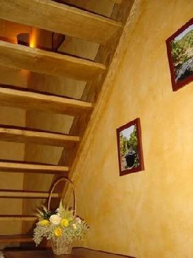 Détails escalier
