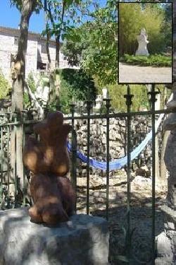 Détails statuettes