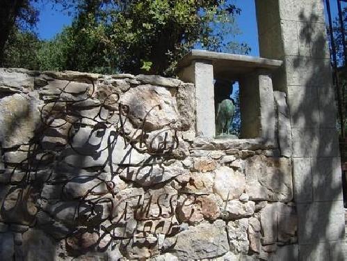 Detail portail entree