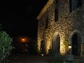 Vue de nuit façades éclairées