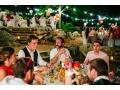 Coin repas extérieur mariage et fêtes